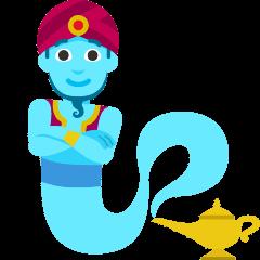 Man Genie on Skype Emoticons 1.2