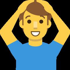 Man Gesturing OK on Skype Emoticons 1.2