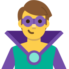 Man Supervillain on Skype Emoticons 1.2