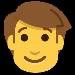 Man on Skype Emoticons 1.2