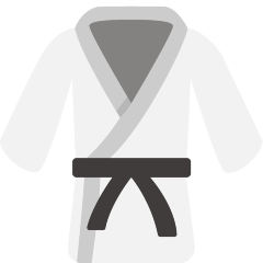 Martial Arts Uniform on Skype Emoticons 1.2