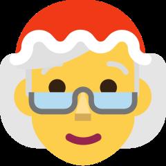 Mrs. Claus on Skype Emoticons 1.2