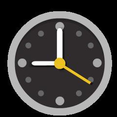 Nine O'Clock on Skype Emoticons 1.2