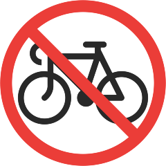 No Bicycles on Skype Emoticons 1.2