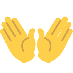 Open Hands on Skype Emoticons 1.2