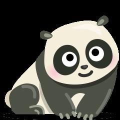 Panda on Skype Emoticons 1.2