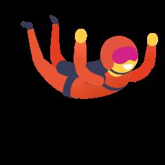 Parachute on Skype Emoticons 1.2