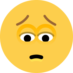 Pensive Face on Skype Emoticons 1.2