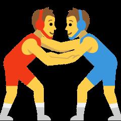 People Wrestling on Skype Emoticons 1.2