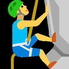 Person Climbing on Skype Emoticons 1.2