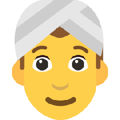 Person Wearing Turban on Skype Emoticons 1.2