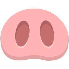 Pig Nose on Skype Emoticons 1.2
