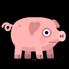 Pig on Skype Emoticons 1.2