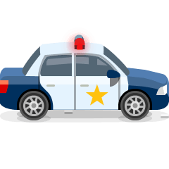Police Car on Skype Emoticons 1.2