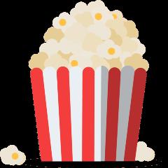 Popcorn on Skype Emoticons 1.2