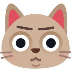 Pouting Cat on Skype Emoticons 1.2