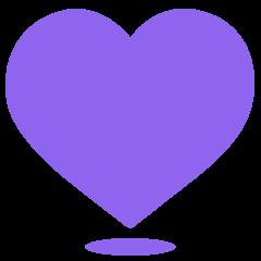 Purple Heart on Skype Emoticons 1.2