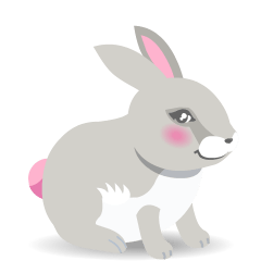 Rabbit on Skype Emoticons 1.2