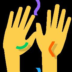 Raising Hands on Skype Emoticons 1.2
