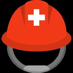 Rescue Worker's Helmet on Skype Emoticons 1.2