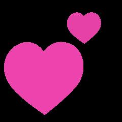 Revolving Hearts on Skype Emoticons 1.2