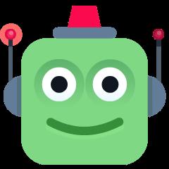 Robot on Skype Emoticons 1.2