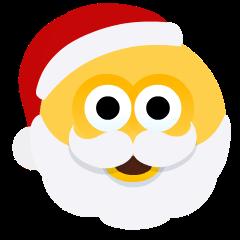 Santa Claus on Skype Emoticons 1.2