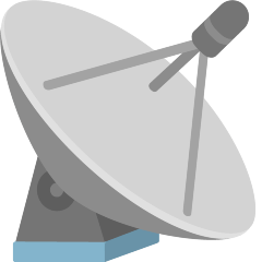 Satellite Antenna on Skype Emoticons 1.2