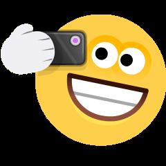 Selfie on Skype Emoticons 1.2