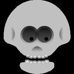 Skull on Skype Emoticons 1.2