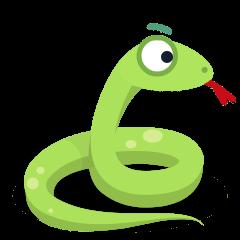 Snake on Skype Emoticons 1.2