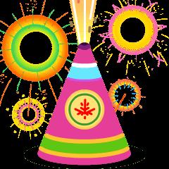 Sparkler on Skype Emoticons 1.2
