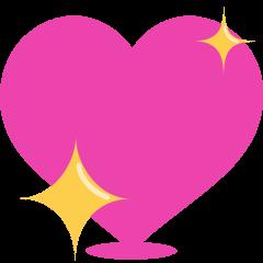Sparkling Heart on Skype Emoticons 1.2