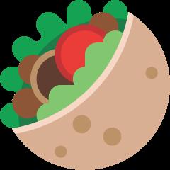 Stuffed Flatbread on Skype Emoticons 1.2