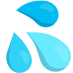 Sweat Droplets on Skype Emoticons 1.2