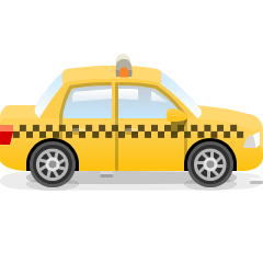 Taxi on Skype Emoticons 1.2