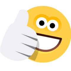 Thumbs Up on Skype Emoticons 1.2