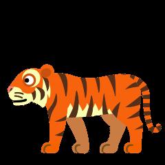 Tiger on Skype Emoticons 1.2