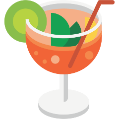 Tropical Drink on Skype Emoticons 1.2