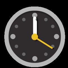 Twelve O'Clock on Skype Emoticons 1.2