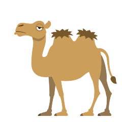 Two-Hump Camel on Skype Emoticons 1.2