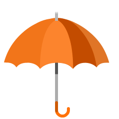 Umbrella on Skype Emoticons 1.2