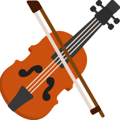 Violin on Skype Emoticons 1.2