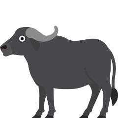 Water Buffalo on Skype Emoticons 1.2