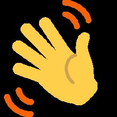 Waving Hand on Skype Emoticons 1.2