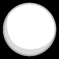 White Circle on Skype Emoticons 1.2