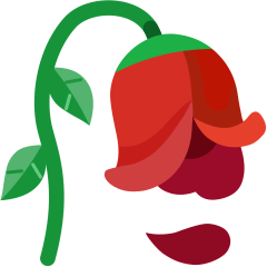 Wilted Flower on Skype Emoticons 1.2
