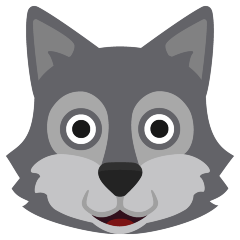 Wolf on Skype Emoticons 1.2