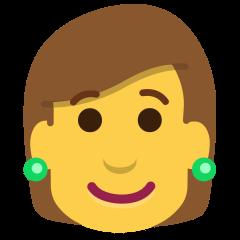 Woman on Skype Emoticons 1.2