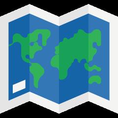 World Map on Skype Emoticons 1.2